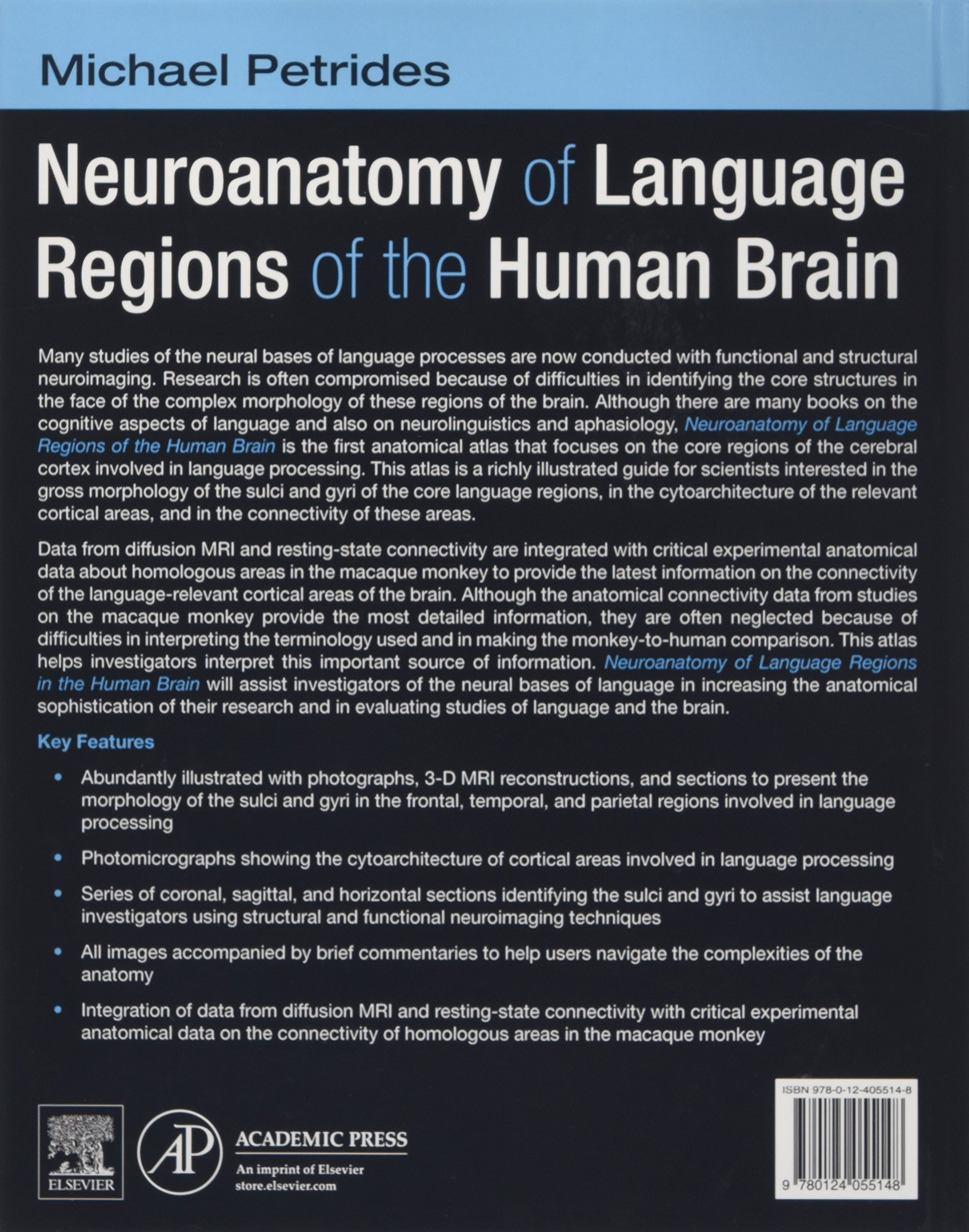 Neuroanatomy of Language Regions of the Human Brain: Michael ...