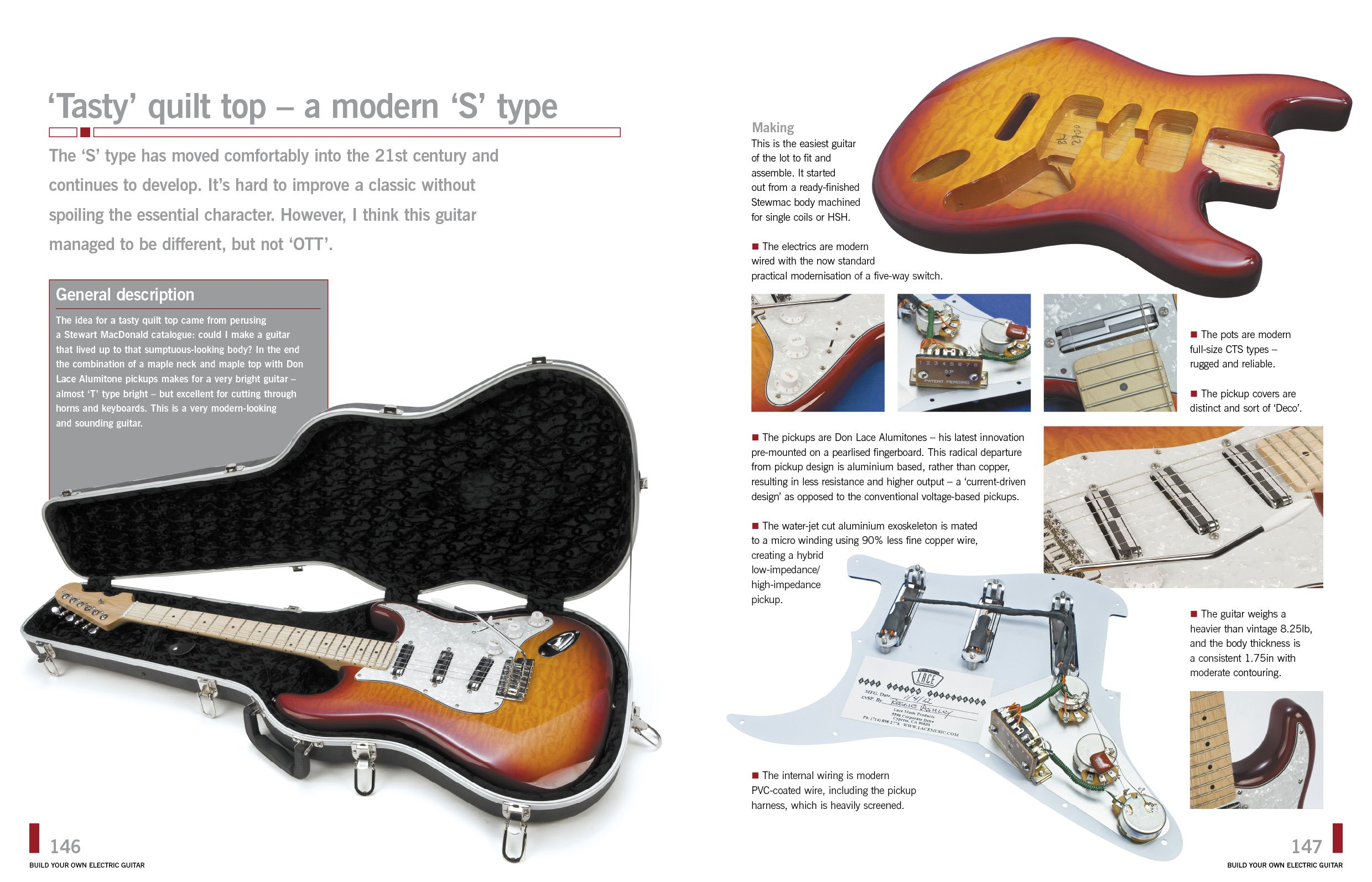 build your own electric guitar paul balmer brian may