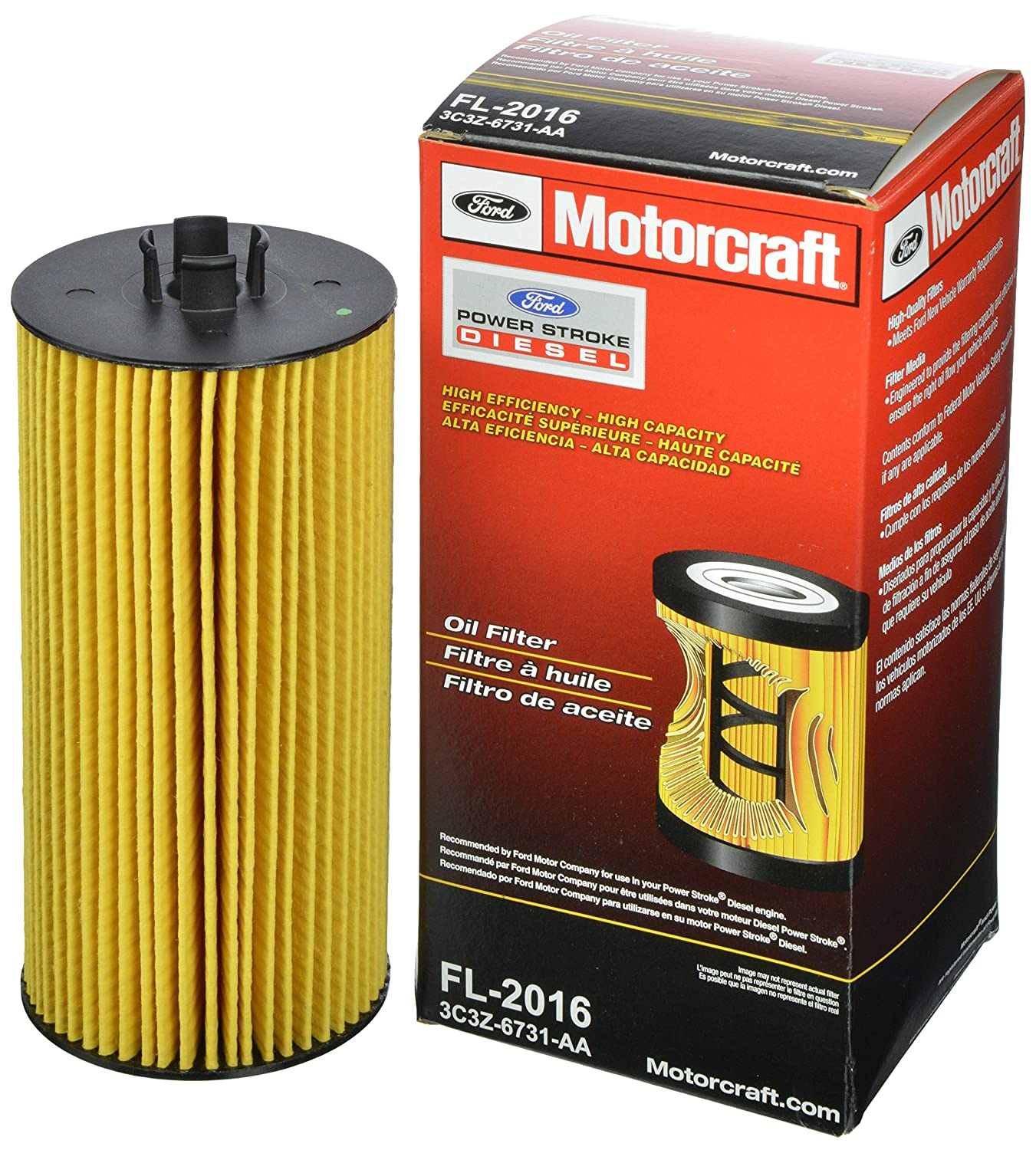 Motorcraft Fl 2016 Oil Filter Automotive 7 3 Fuel Housing Removal