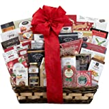 Gourmet Gift Basket-The V.I.P Gift Basket The Ultimate Experience In Gifting Gourmet Food And Snacks Country Archer Beef Jerky Salami Stone Ground Mustard & more by Wine Country Gift Baskets
