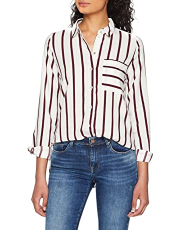 Amazon.es  Blusas y camisas - Camisetas 72ea7c192c2