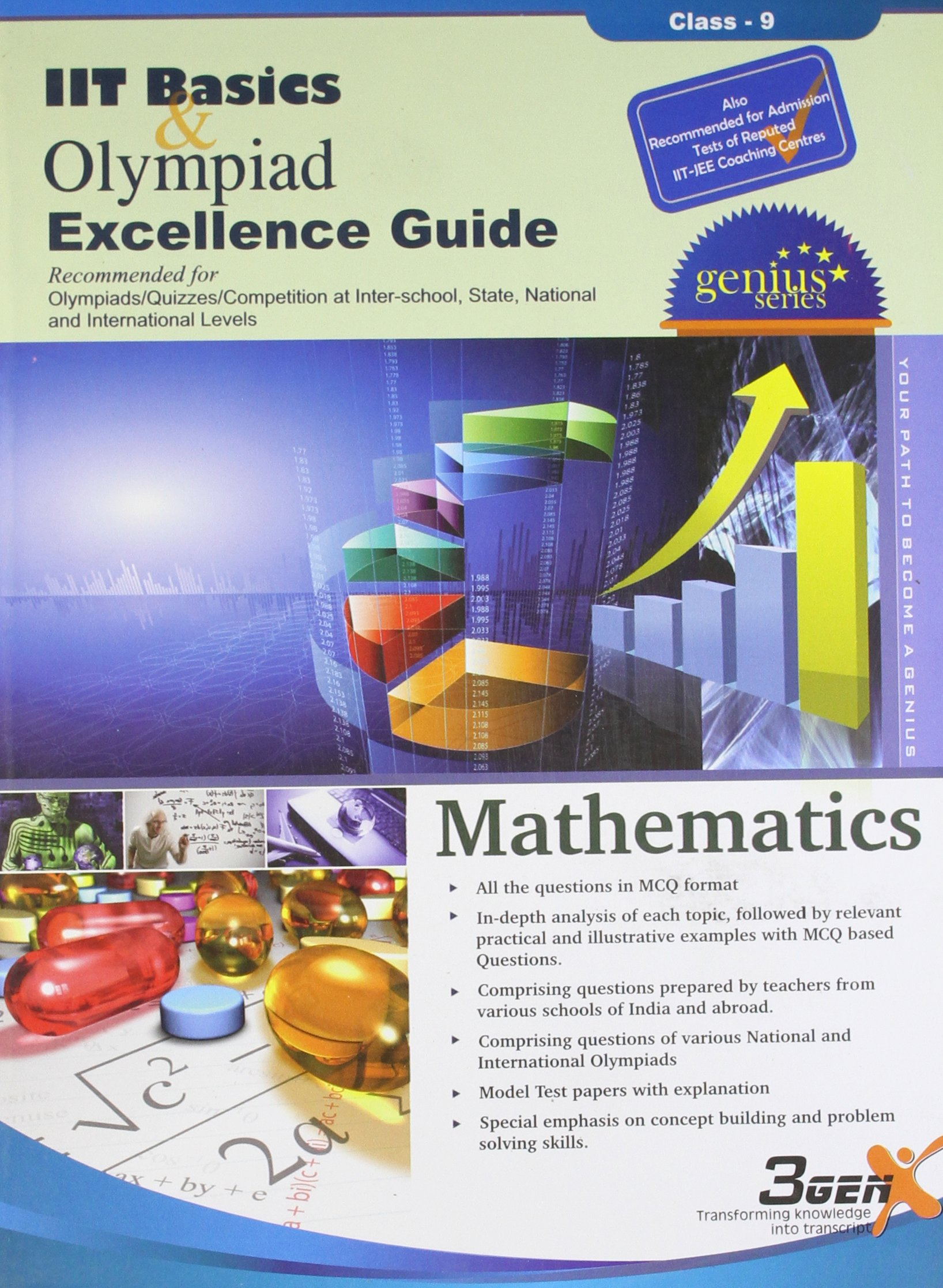 Amazon.in: Buy Olympiad Excellence Guide for Mathematics (Class-9) Book  Online at Low Prices in India | Olympiad Excellence Guide for Mathematics ( Class-9) ...
