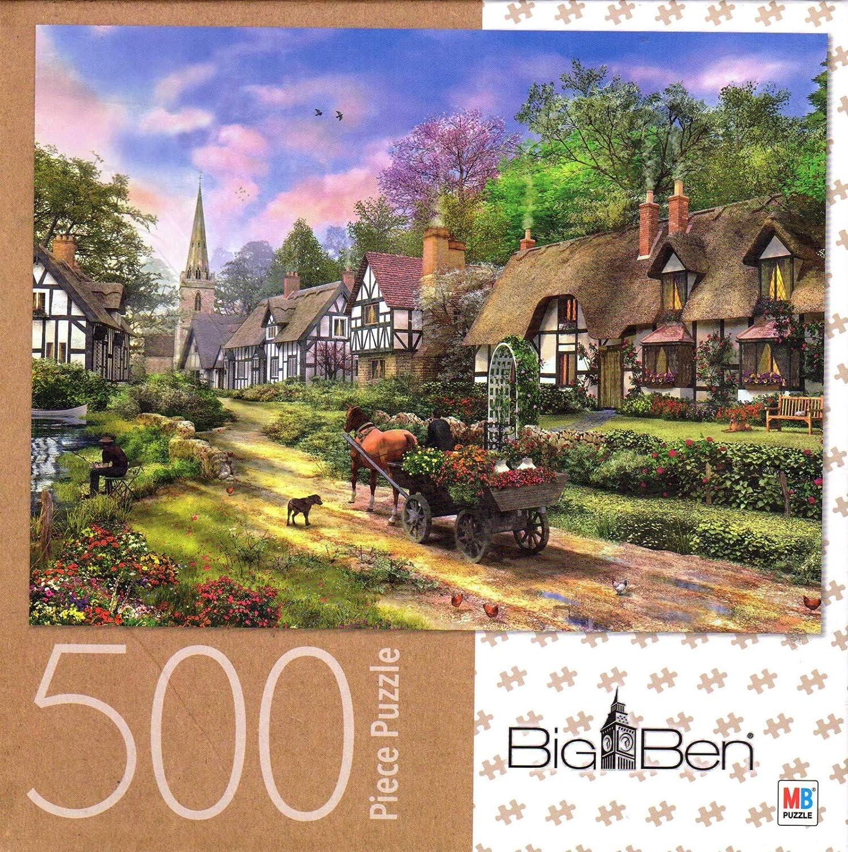 Village Life 500 Piece Puzzle George