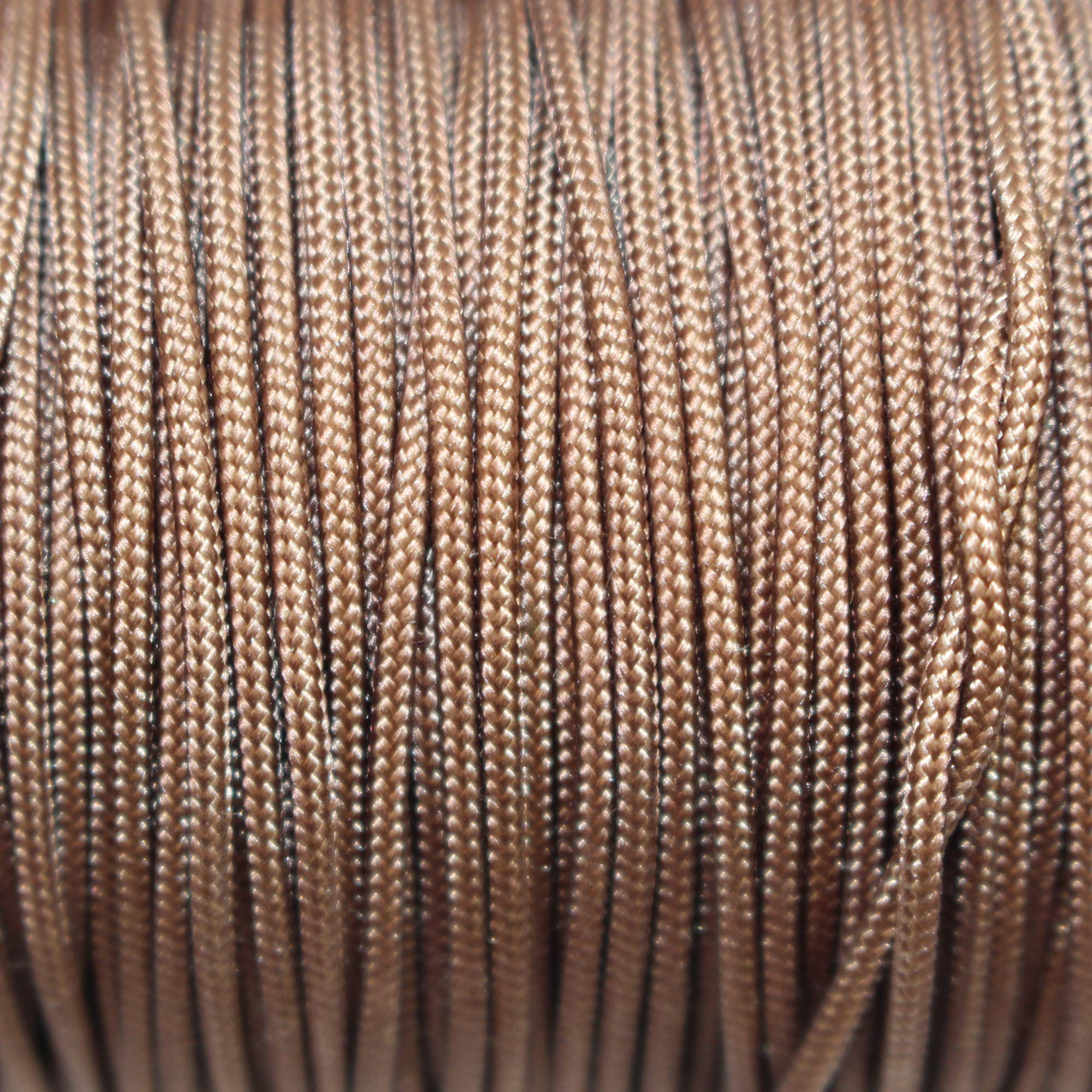 Mini Blind Cord (1.8 mm) - SGT KNOTS - Durable Polyester Lift Cord - Roman Shade Cord & Wind Chime Cord - Micro Cord/Nano Cord for Crafting, Home Decor, Repair & DIY Projects (100 Yards - Chocolate) by SGT KNOTS