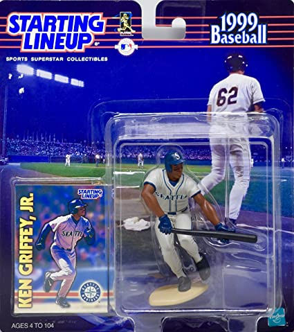 d42644fbda 1999 - Starting Lineup - Ken Griffey Jr #24 - Seattle Mariners - Action  Figure & Trading Card - OOP - Mint at Amazon's Entertainment Collectibles  Store