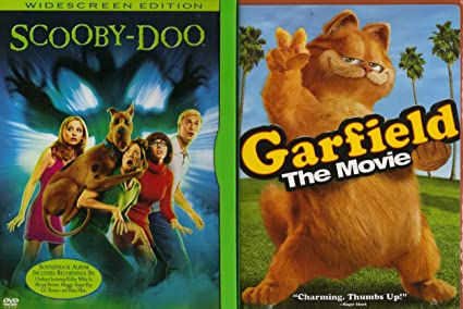 Amazon Com Garfield The Movie Scooby Doo The Movie Family Movie 2 Pack Collection Movies Tv
