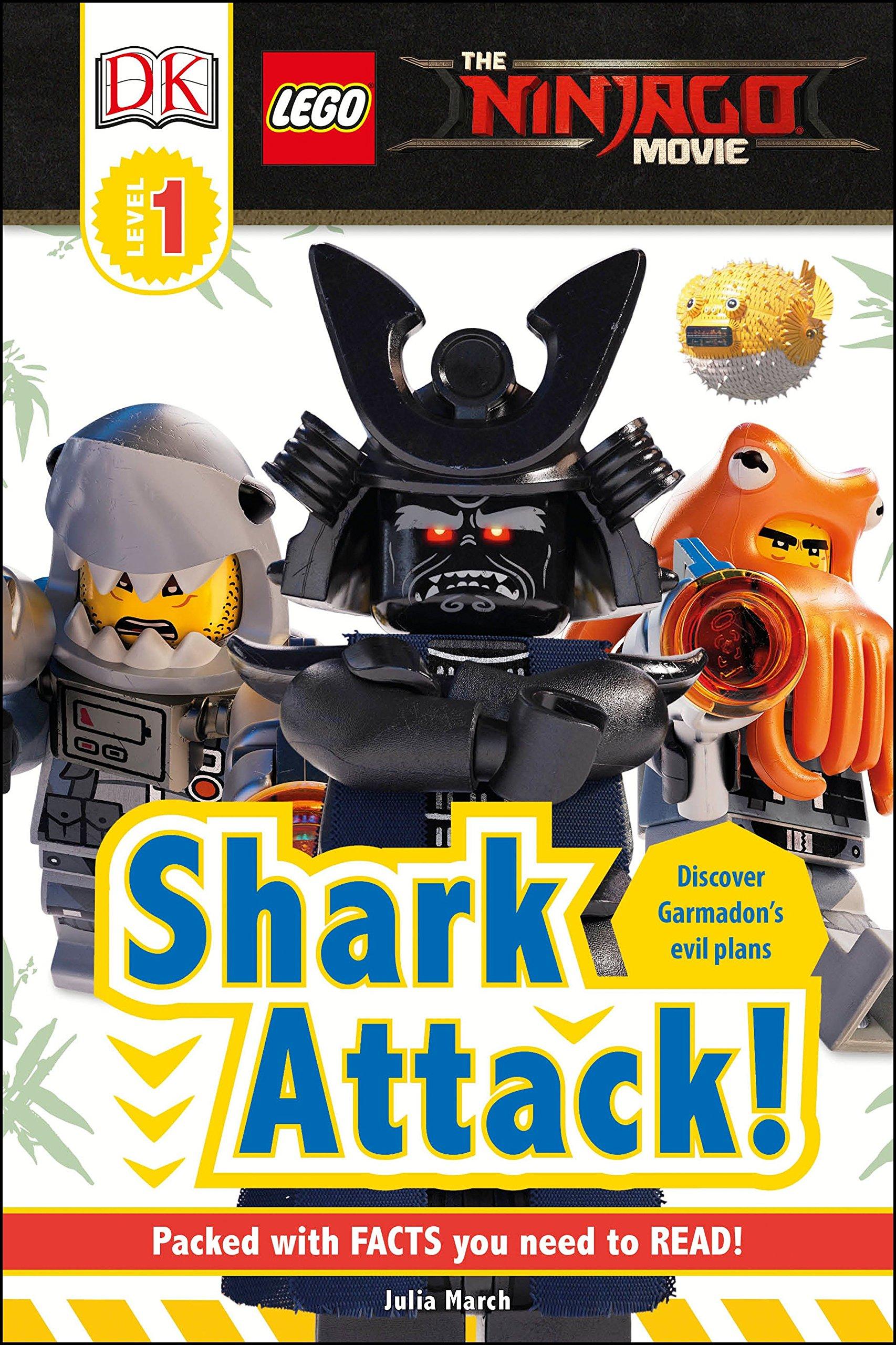 Amazon com: DK Readers L1: The LEGO® NINJAGO® MOVIE : Shark