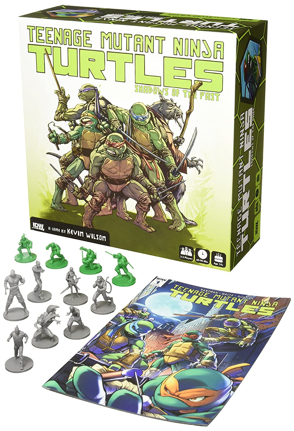 66de149df Amazon.com  IDW Games Teenage Mutant Ninja Turtles  Shadows of The Past  Board Game  Toys   Games