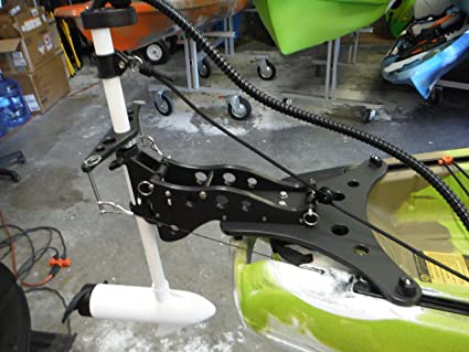 Image Unavailable. Image not available for. Color: Kayak Trolling Motor Conversion Kit