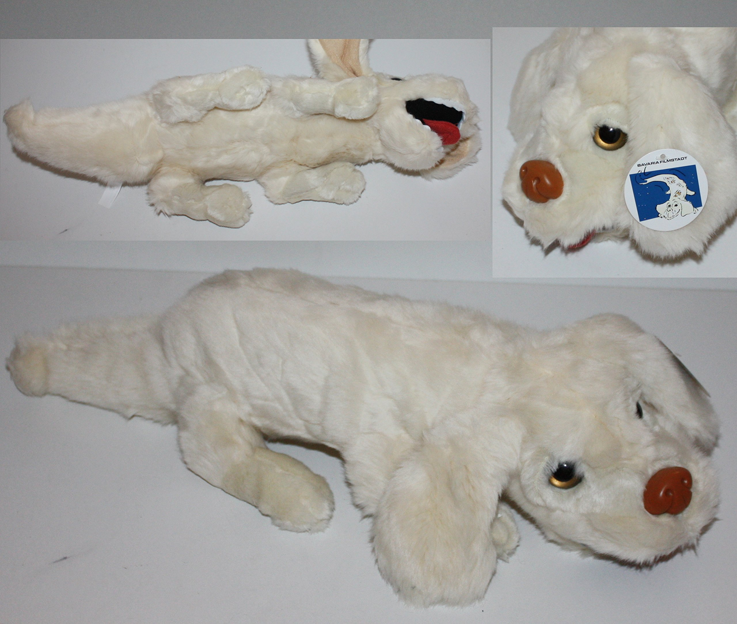Official The Neverending Story Falkor / Falcor Luck Dragon Plush Toy (Imported from Germany) by Filmstadt
