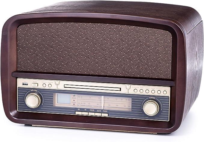 Camry CR1112 - Tocadiscos retro: Amazon.es: Electrónica