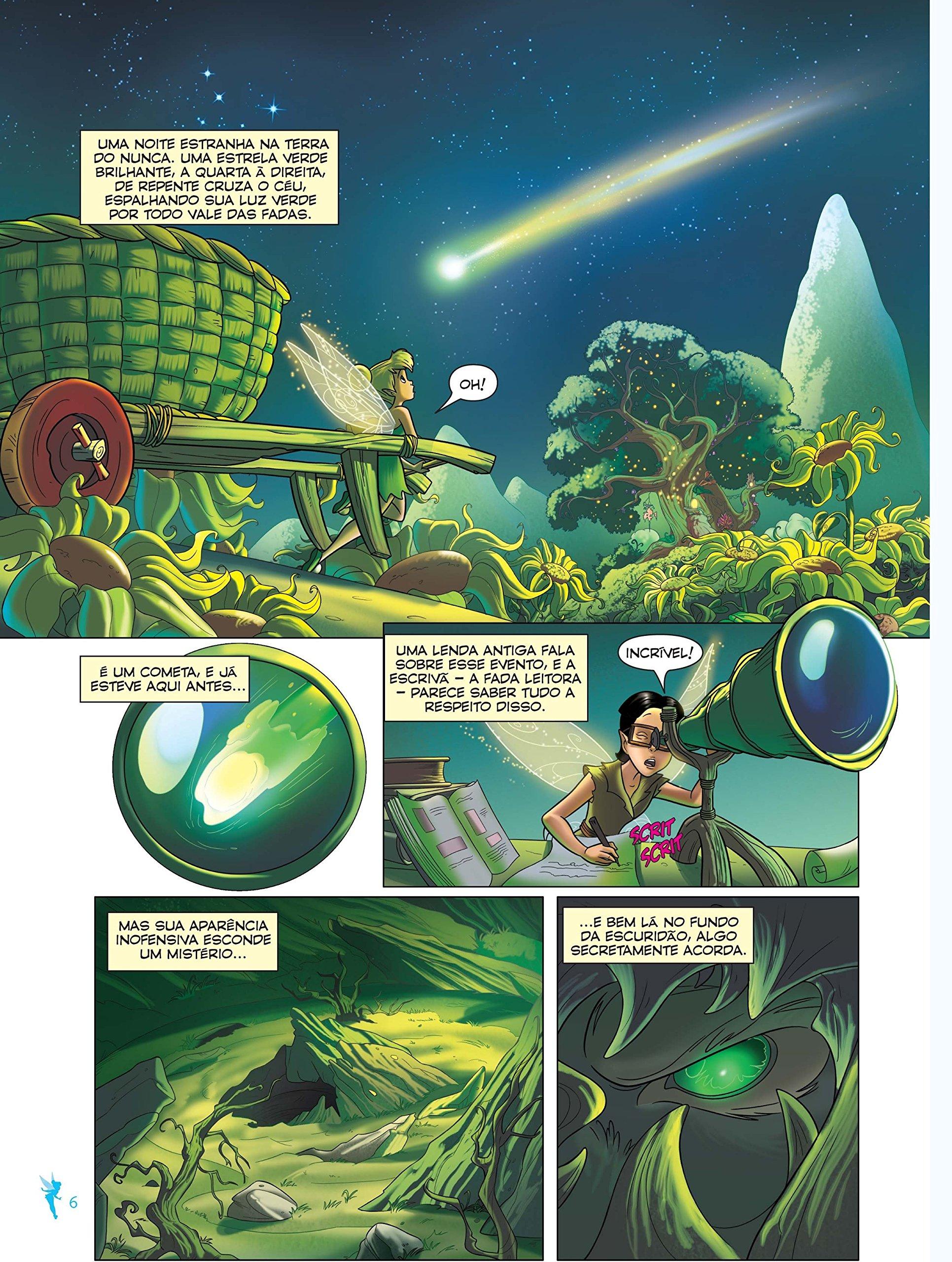Tinker Bell E O Monstro Da Terra Do Nunca A História Do