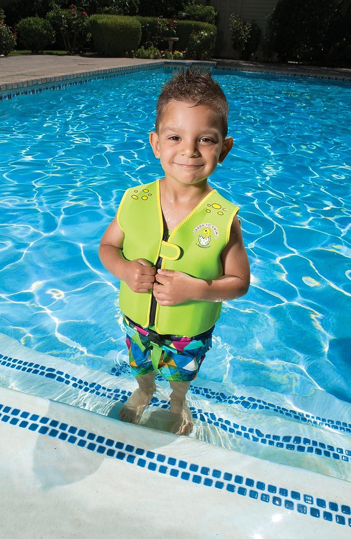 Speedo Kids Girls Float Suit Life Jacket Swimming Pool Beach New Age 2-3