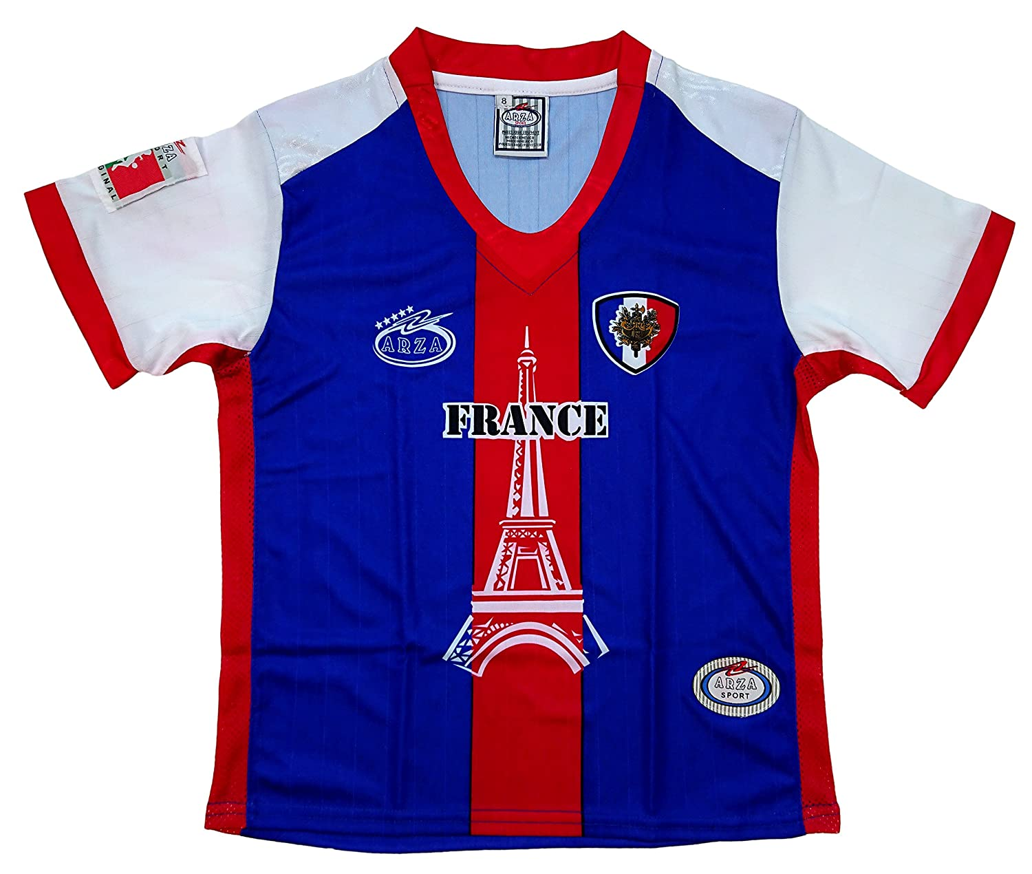 16611a3fd Amazon.com  France Arza Youth Soccer Uniform  Clothing