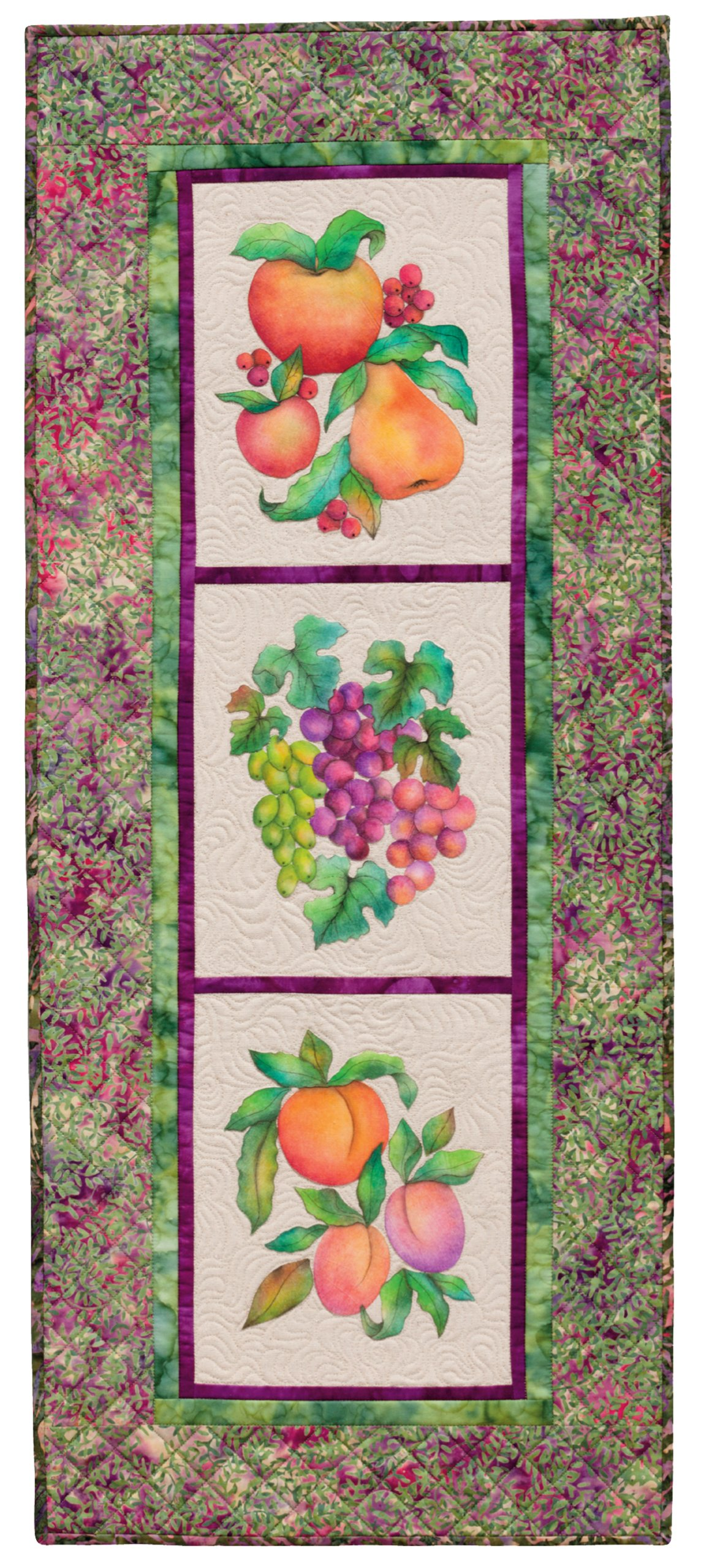 Creative Quilts from Your Crayon Box: Melt-n-Blend Meets Fusible Applique by That Patchwork Place (Image #7)
