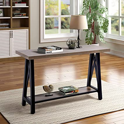 Amazon Com Console Table Entryway Table Hallway Table With Storage
