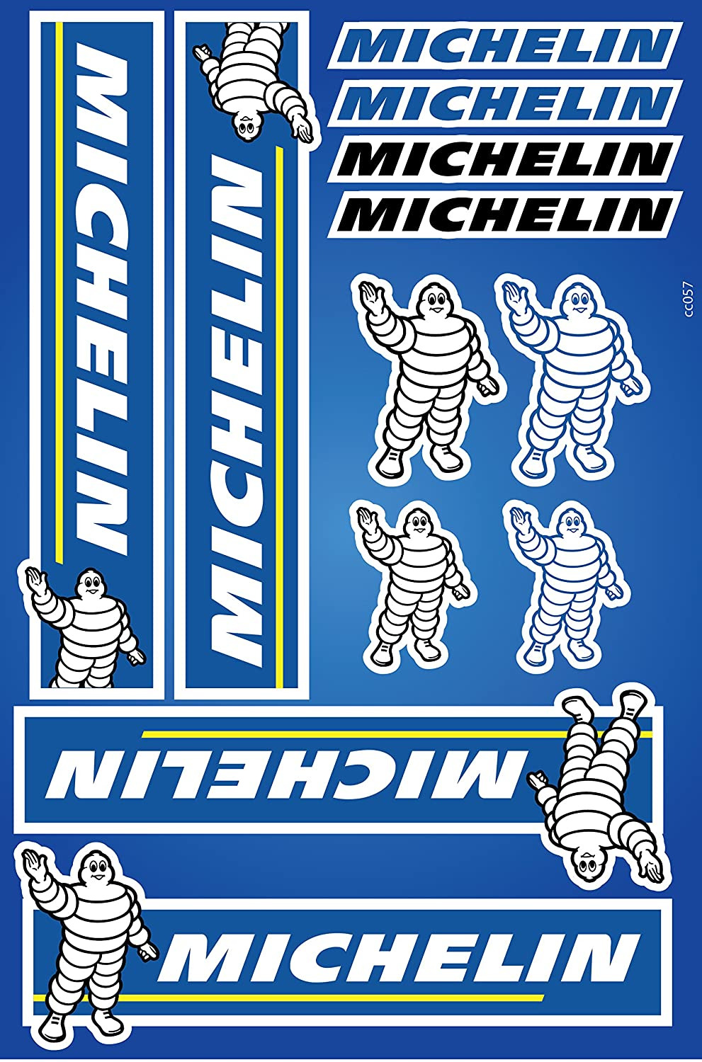 Michelin Stickers Decals 30x20cm vinyl with extra protection on top Life Decor