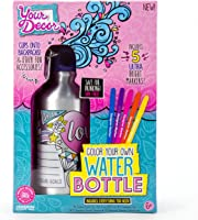 Your Décor Color Your Own Water Bottle by Horizon Group USA, DIY Bottle Coloring Craft Kit, BPA Free, Markers &...