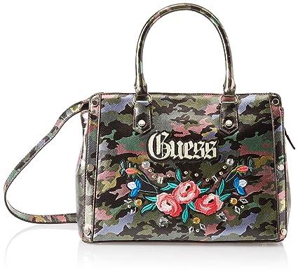 Portés Multicolore camouflagecmo Main 32x24x14 Badlands Sacs Guess Femme wvf7cq