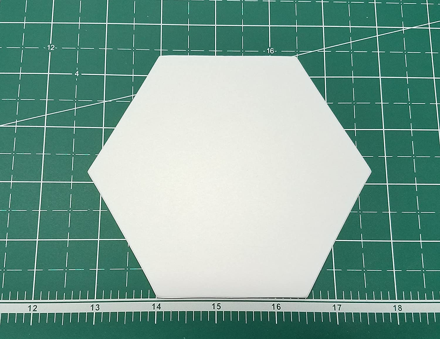 Jewels Set of  Acrylic Cutting Templates for EPP  by All Quilty