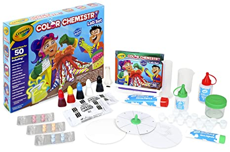 b34bf059c Amazon.com: Crayola Color Chemistry Set for Kids, Steam/Stem ...