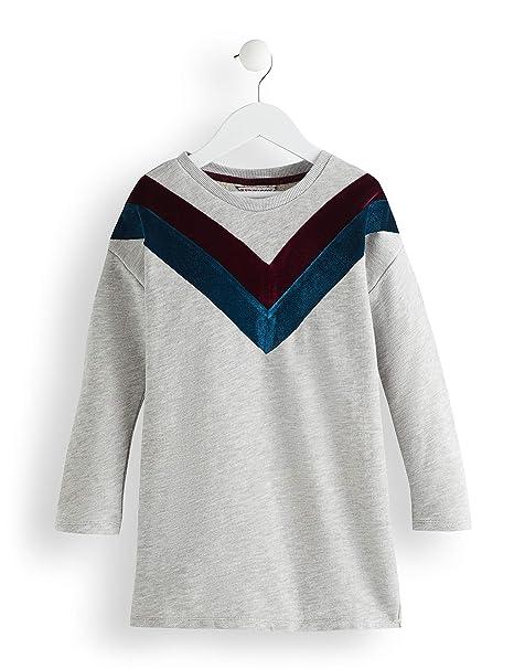 Red Wagon Sweater Velvet Detail, Vestido para Niñas: Amazon.es: Ropa y accesorios