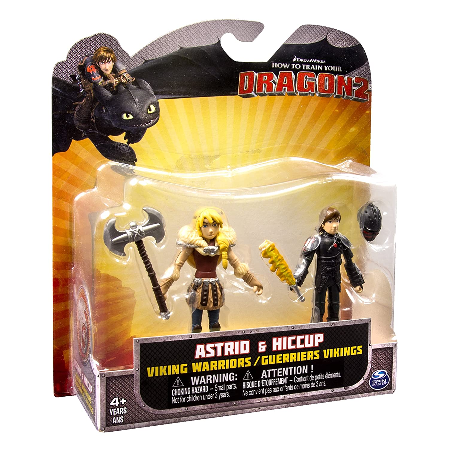 Amazon dreamworks how to train your dragon 2 viking warriors amazon dreamworks how to train your dragon 2 viking warriors action figures astrid and hiccup toys games ccuart Image collections