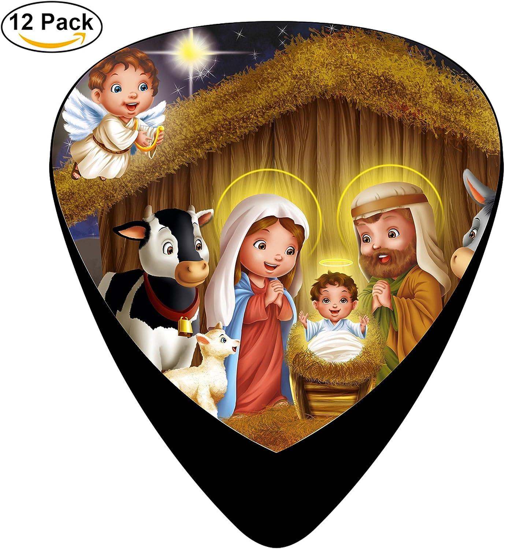 Feliz cumpleaños a Jesús. Púas para guitarra celuloide 12 unidades ...