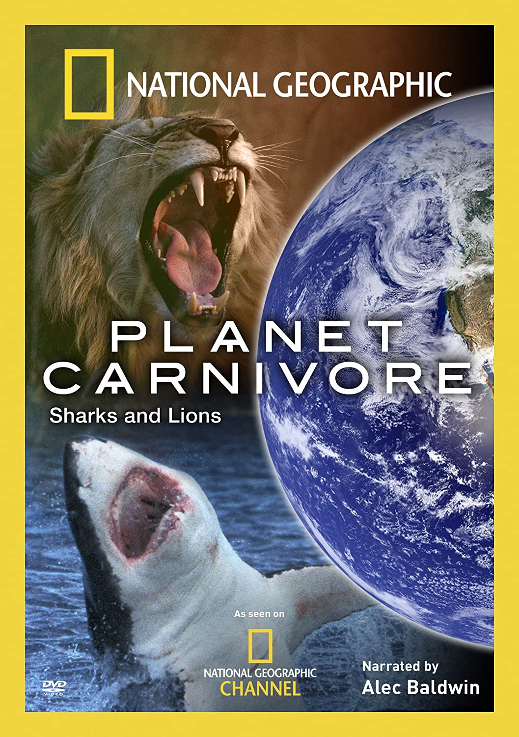 amazon com planet carnivore sharks and lions national