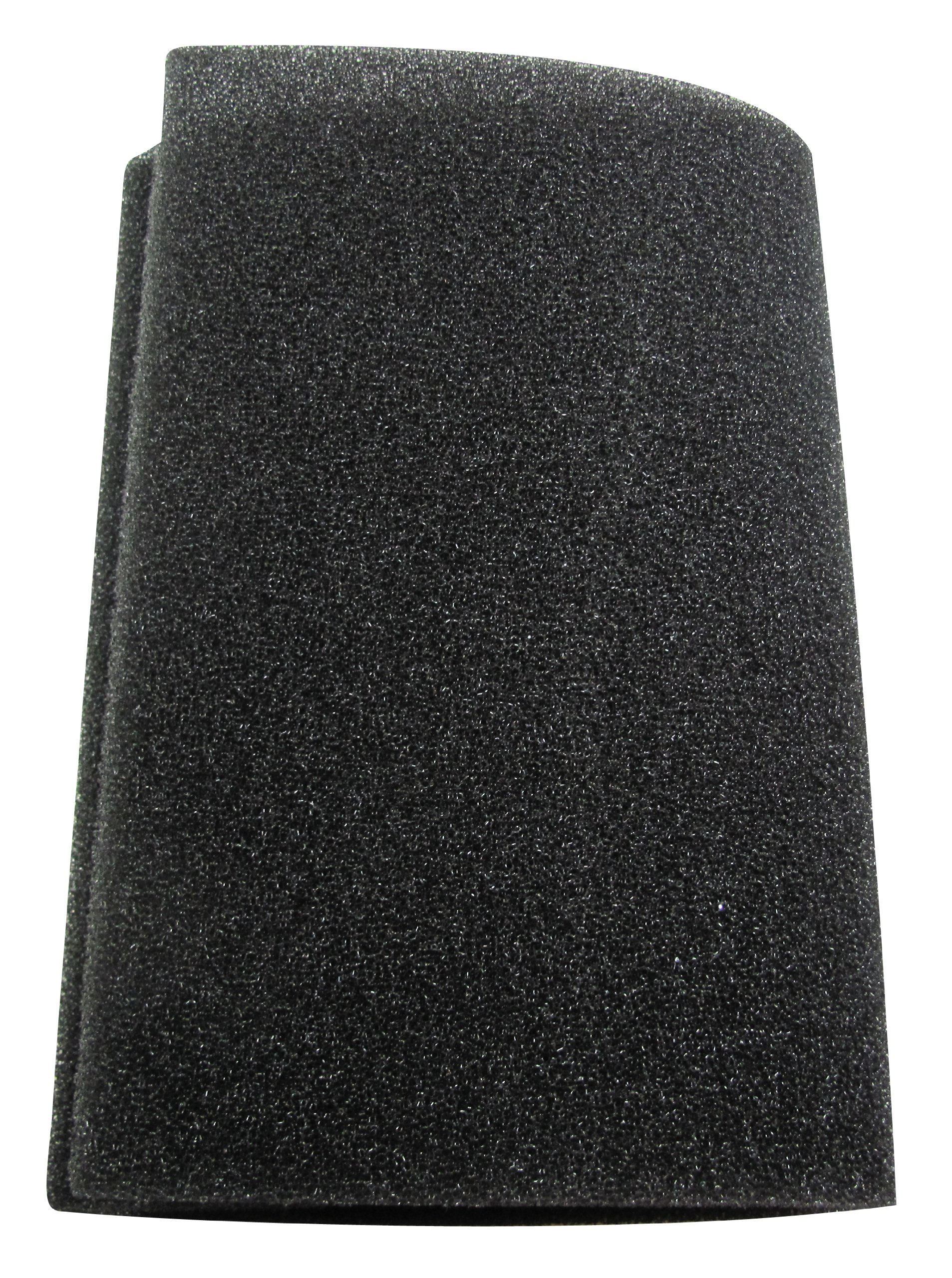 Uni Filter BF-2 12'' X 24'' X 3/8'' 30-PPI Black Coarse Foam by Uni Filter