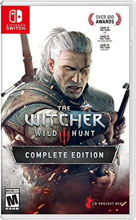 The Witcher 3: Complete Edition for Nintendo Switch USA: Amazon.es ...