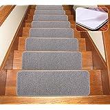 Stair Treads Collection Indoor Skid Slip Resistant Carpet