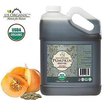 Amazon.com: Aceite de semilla de calabaza orgánico de ...