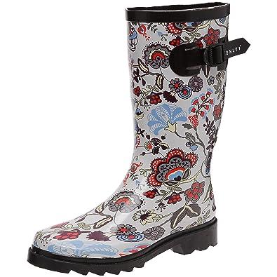 a6d3e337d36528 Be only Demi Botte Liberty, Bottes de pluie femme - Multicolore, 37 EU