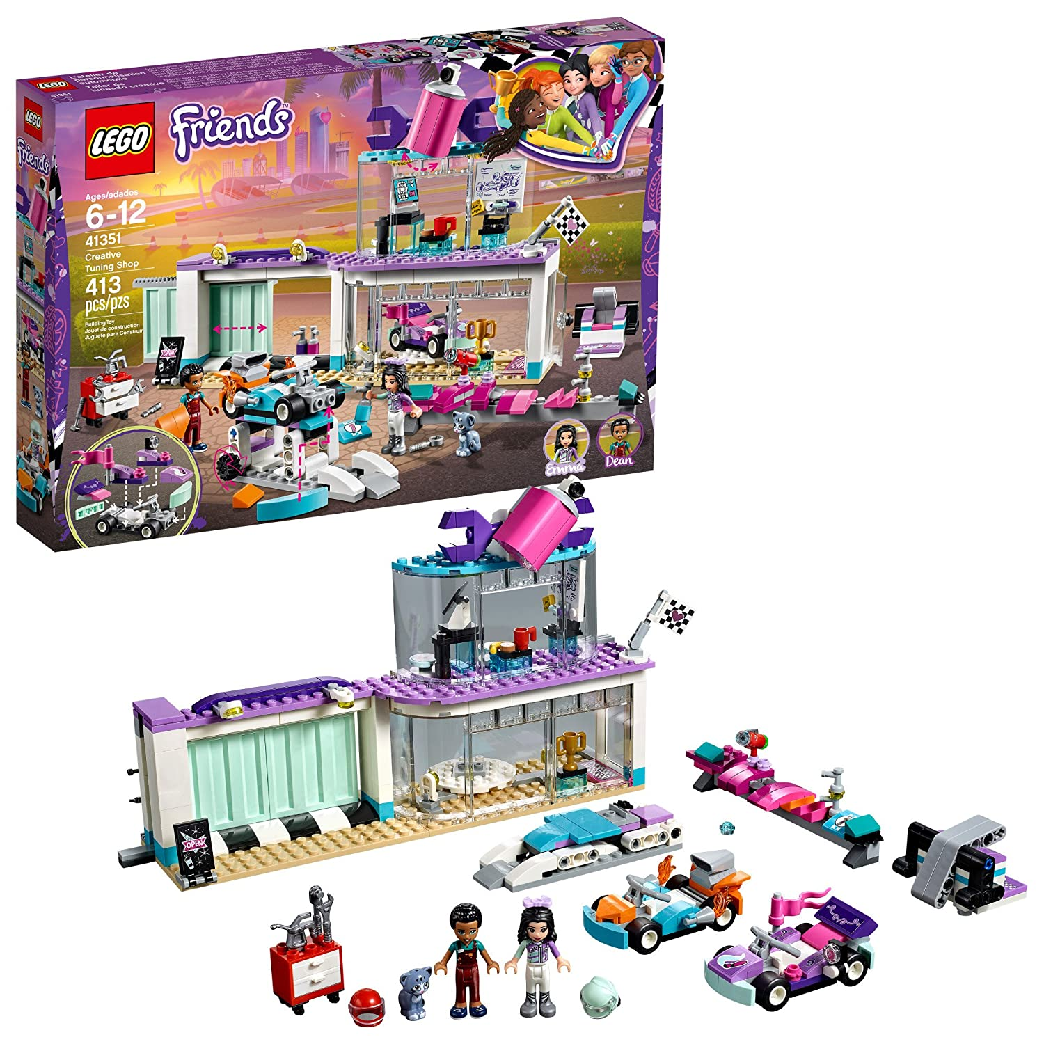 Amazon Lego Friends Creative Tuning Shop Building Kit 413