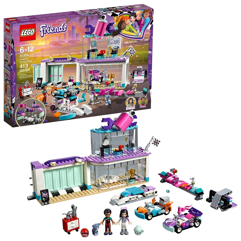 LEGO Friends Creative Tuning Shop 41351 Building Kit (413 Piece) 6213525