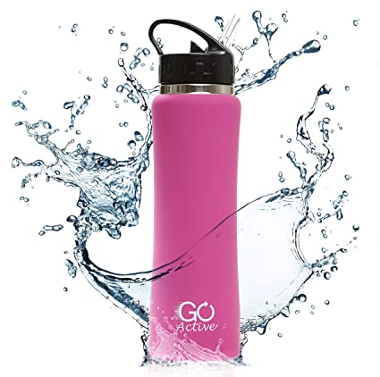 Go active Stainless steel water bottle