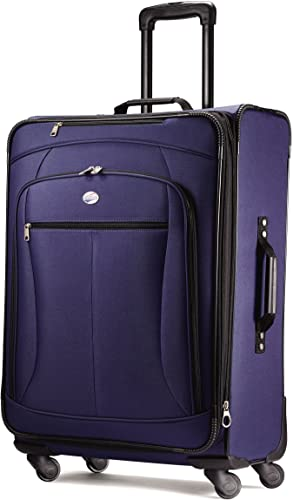 American Tourister Luggage Pop Extra 29 Spinner Suitcase 29 , Navy