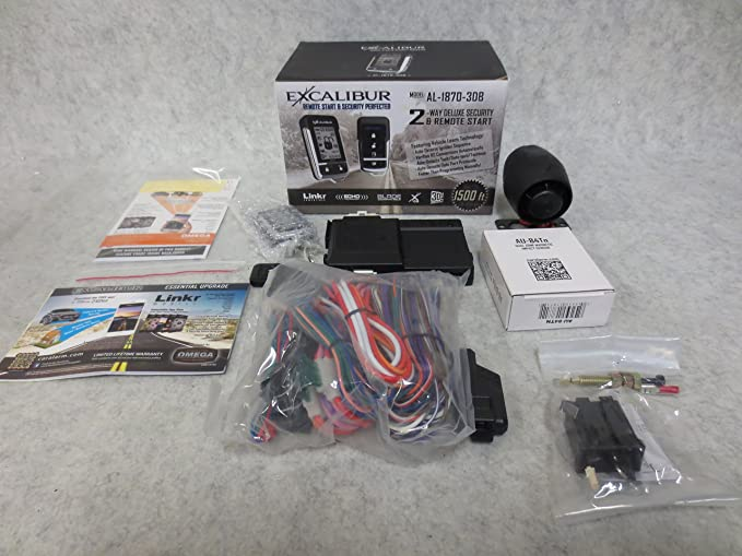 1 Pack with 2 Button LCD Remote and Sidekick Remote Excalibur ...