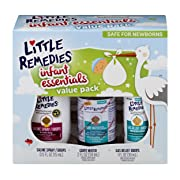 Little Remedies Infant Essentials Value Pack | 3 Great Products for Baby's Nose and Tummy