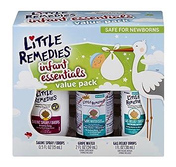 04d5fb53d Amazon.com: Little Remedies Infant Essentials Value Pack   3 Great ...
