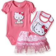 Hello Kitty Baby Girls' Gift Set, Pink Carnation, 18 Months