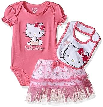 245966f98795 Amazon.com  Hello Kitty Baby Girls  Gift Set  Clothing