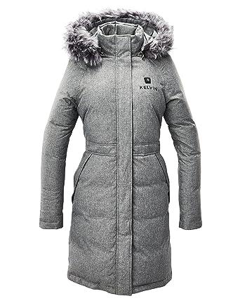 Kelvin Heated Jacket for Women - 5 Heat Zones + 12Hr Battery for The  Warmest Heated 0f2724b35e