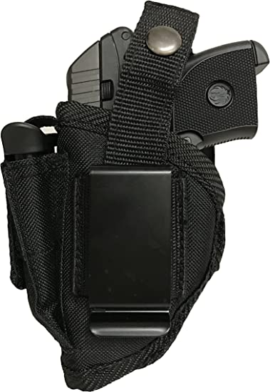 Pistol holster With Magazine Pouch For Smith /& Wesson Bodyguard 380 W//O Laser