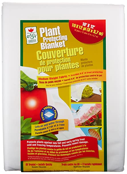 Easy Gardener Plant Protection Blanket For Frost Protection, Seed  Germination, Season Extension And Animal