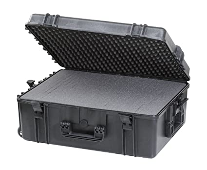 Max MAX620H250S IP67 resistente al agua nominal de tapas rígidas para fotografía equipo estanca resistente de