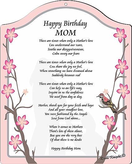 Amazon Com Rikki Knight Happy Birthday Mom Red Floral Branches