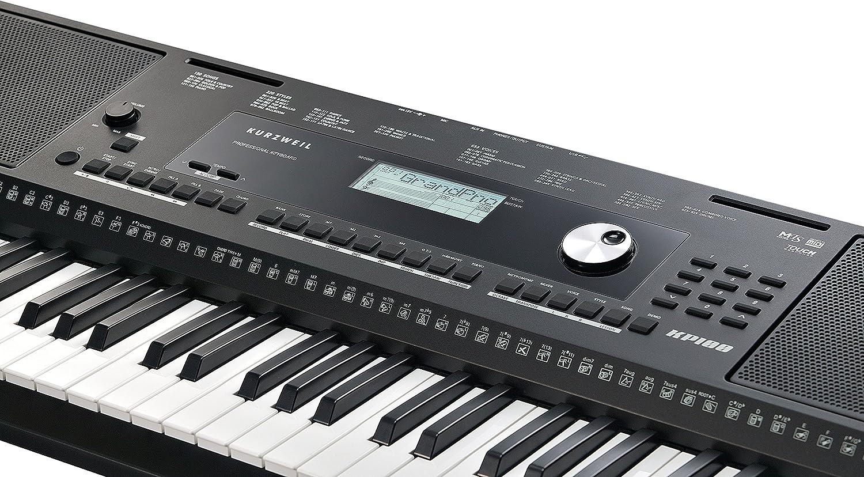 Kurzweil Home KP100 Teclado portátil de 61 notas (KP-100)