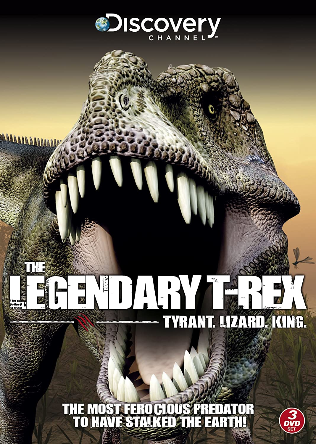 Discovery Channel - The Legendary T-REX: Tyrant, Lizard, King DVD: Amazon.co.uk: DVD & Blu-ray